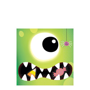 Boo Crew Beverage Napkins- 16ct