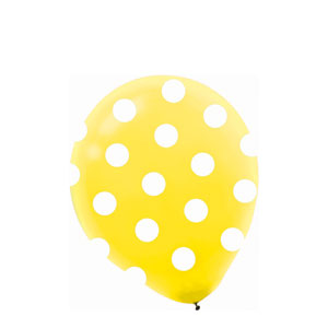 Bright Dots Latex Balloons- 20ct