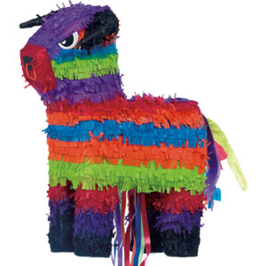 Pull the Bull Pinata- 20 Inch
