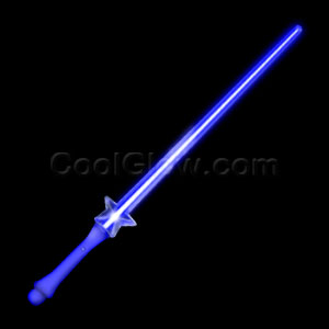 Fun Central O557 LED Light Up Star Saber - Blue