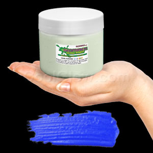 Glominex Glow Paint Invisible Day Pint Blue