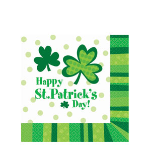 St.Pat's Cheer Beverage Napkins