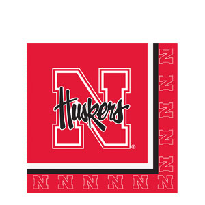 Nebraska Luncheon Napkins