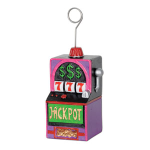 Slot Machine Photo and Balloon Holder- 6oz