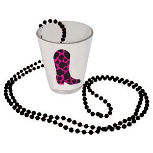 Boot Shot Glass Necklace