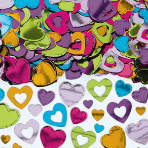 Hearts Confetti - Multicolored