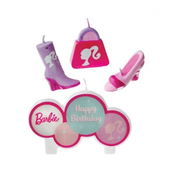 Barbie Molded Candle Set