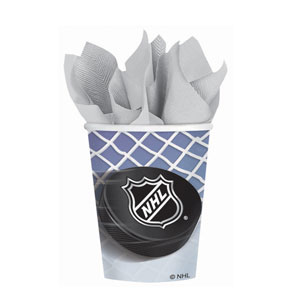 NHL Ice Time 9 oz. Cups- 8ct