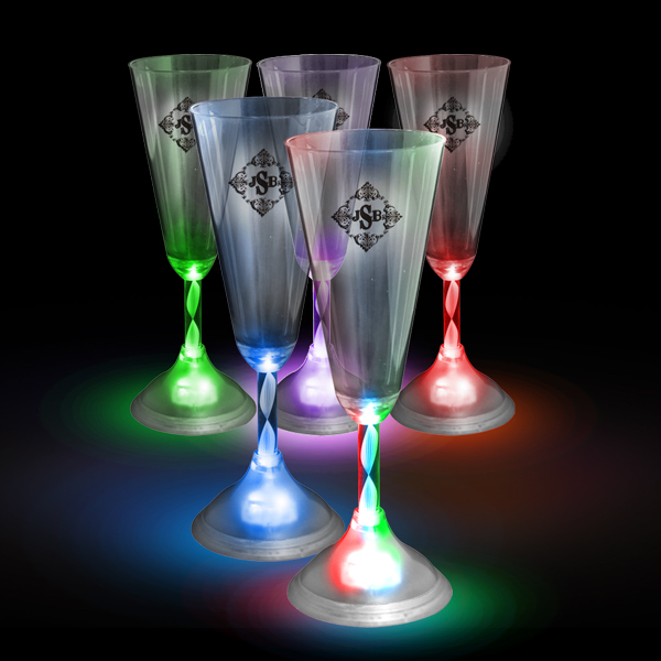 Led drinkware - Flute a champagne led ...