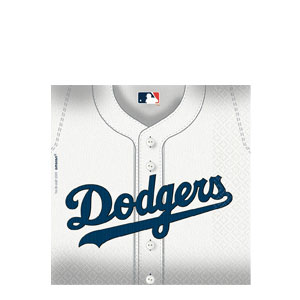 Los Angeles Dodgers Luncheon Napkins- 36ct