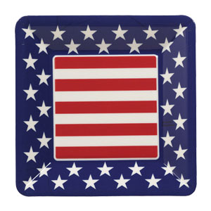 All American 7 Inch Plastic Tray