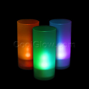 Fun Central I599 LED Light Up Pillar Candle - Multicolor