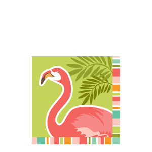Paradise Beverage Napkins- 16ct