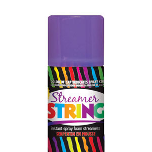 Streamer String- Purple
