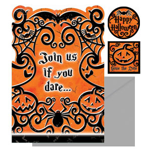 Gothic Greetings Invitation Pack- 20ct