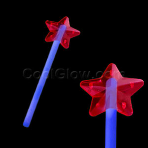 Fun Central O009 Glow in the Dark Premium Star Wand - Blue