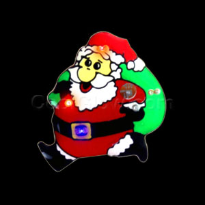 Flashing Santa Delivery Blinky