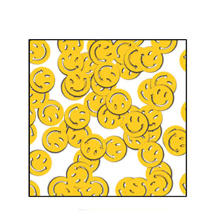Smiley Face Confetti - 1oz