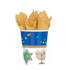 Hanukkah Celebrations 9 oz. Cups
