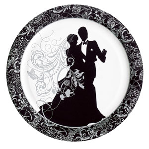 Silhouette 10 Inch Plates