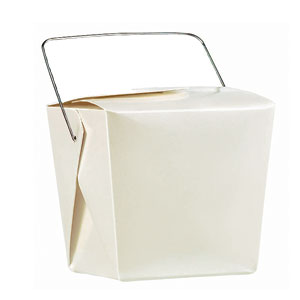 White Pearlized Mini Wedding Favor Pails - 12 Ct