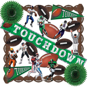 Touchdown Decorating Kit- 25pc