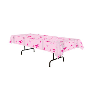 Pink Ribbon Tablecover - 108in