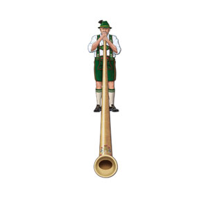 Alpine Horn Jointed Cutout - 6ft