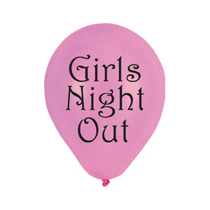 Girls Night Out Balloons