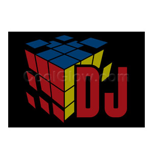 LED Sound Activated Patch - DJ Cube