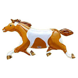 Painted Pony Balloon- 41in