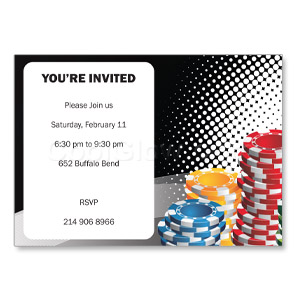 Stacked Up - Custom Invitations