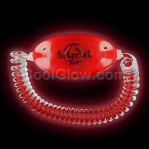 LED Stretchy Bracelet - Red