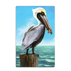 Pelican Cutout- 18in