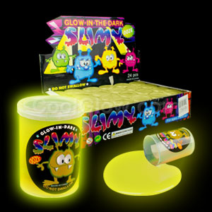 Glow in the Dark Slime - Yellow
