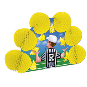 Referee Pop-Over Centerpiece- 10in