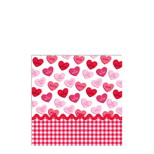 Sweet Greetings Beverage Napkins