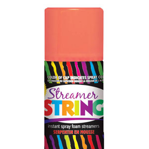 Streamer String- Orange