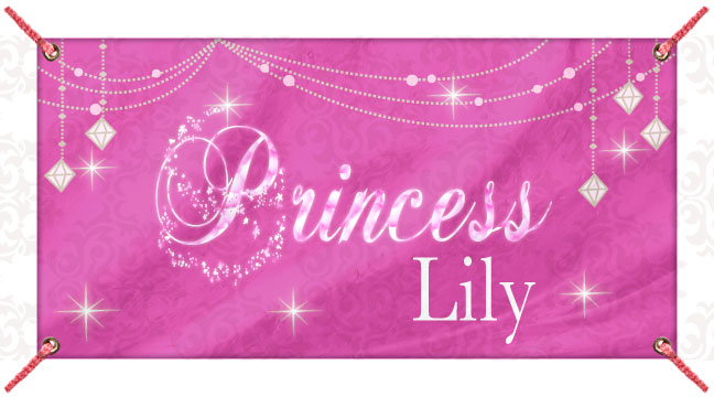 Pink Glitz Princess - Custom Banner