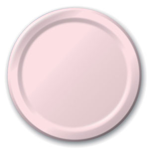 Baby Pink 9 Inch Plates