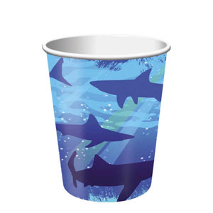 Shark Splash 9 oz. Cups- 8ct