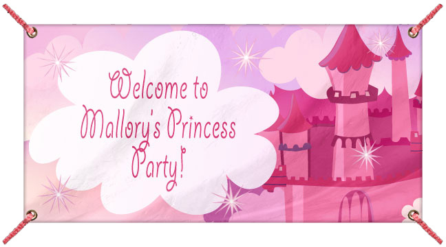 Princess Castle - Custom Banner