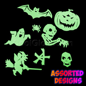 Glow Stickers - Halloween Design
