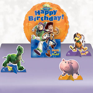 Toy Story 3 Happy Birthday Balloon Centerpiece- 5pc
