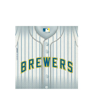 Milwaukee Brewers Luncheon Napkins- 26