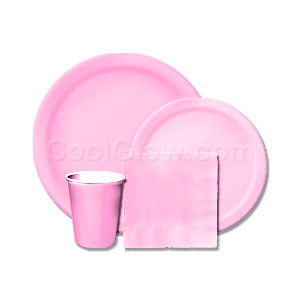 Candy Pink Tableware Kit