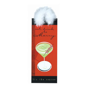 Holiday Buzz Bottle Bag- 13 Inch
