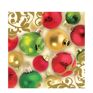 Merry Moments Dinner Napkins