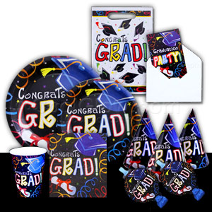 Grad Diploma Complete Party Pack