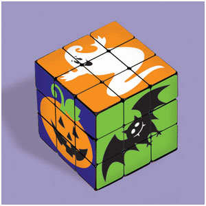Halloween Puzzle Cube 6ct